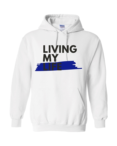 Picture of Living My Life Pullover Hoodie
