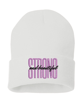 Picture of Strong and Beautiful Knit Toque